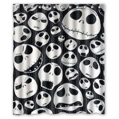 Christmas Shower Curtains Baby Diy Nightmare Before Halloween Crafts Decorations