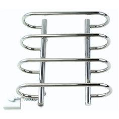 Modern Badheizkörper Handtuchwärmer Edelstahl Wandmontage 40W