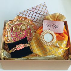 Here at Rè Nao, we are able to provide hand selected and beautifully crafted gift boxes with personalized messages for your loved ones Rakhi, Gift Boxes, The Selection, First Love, Packaging, Messages, Traditional, Gifts, Presents