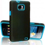 Blue Hybrid Mesh Series Case Cover Pouch Accessory For Samsung Galaxy S2    http://naptor.com/index.php?route=product/product_id=333