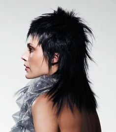 long black straight spikey extensions Layered Womens hairstyles for women