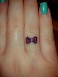 #hello kitty #hello kitty tattoo #bow tattoo #bow #cute #ink #tiny tattoo #simple tattoo #girly tattoo