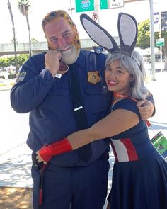 Pin for Later: You're Going to Want to Try These Zootopia Couples Costume Ideas