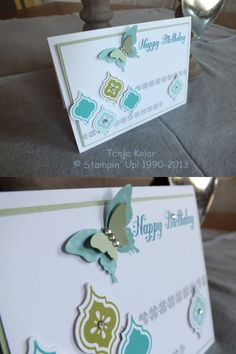 Birthday Card  Posted by tanjakolar on 6 June 2013 Geburtstags Karte Geburtstags Karte