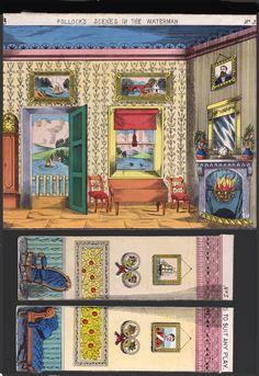 Pollock's Toy Theater Paper Toy Recortable Papiertheater Ausschneidebogen | eBay