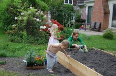 The very basics on creating healthy soil for your new garden.