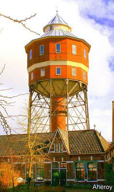 Water-Tower,Groningen,Netherlands