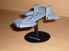 Asgard ship Beliskner, from Stargate SG-1, at Shapeways, by bondp99