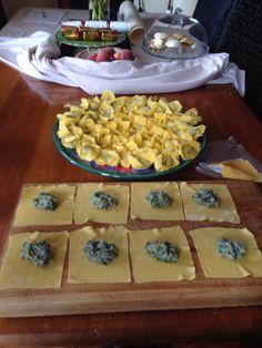 Paua Diving: Paua wontons