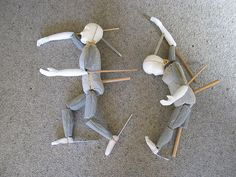 Bunraku Puppets