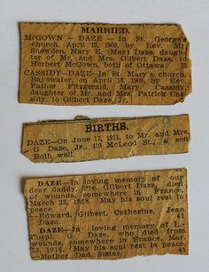 Newspaper Clippings: Can They Be Saved? Advice from Practical Archivist here: http://practicalarchivist.com/old-newspaper-clippings/