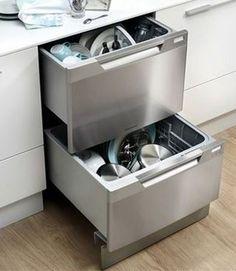 Two Drawer Dishwasher : Contemporary Kitchen Design,Stainless Steel Two Drawer Dishwasher,White High Single Drawer Dishwasher, Dishwasher Cabinet, Best Dishwasher, Small Dishwasher, Portable Dishwasher, Intelligent Design, Fisher Paykel Dishwasher, Outdoor Kitchen Design, Shopping