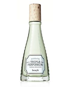 Benefit Triple Performing Facial Emulsion Definitely the best facial lotion to wear under makeup - I ran out of this forever ago and need more!