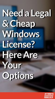 Need a Legal & Cheap Windows License? Here Are Your Options Computer Build, Computer Repair, Technology Lessons, Computer Technology, Windows Software, Microsoft Windows, Windows 10 Hacks, Free Software Download Sites, Low Cost