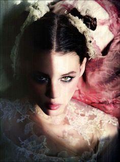 Gleaming Mermaid Astrid Bergès-Frisbey by Ellen von Unwerth  Vogue Italia, March 2012