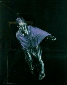 Francis Bacon, Study for Pope, 1955.