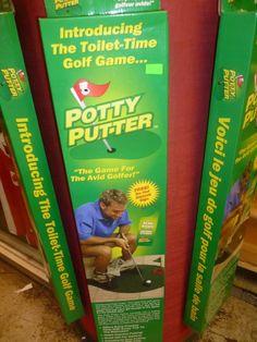 mini golf pour toilettes, publiée le 1 Novembre 2013