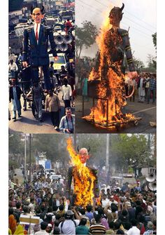 Bhopal Gas Disaster Protest Effigy