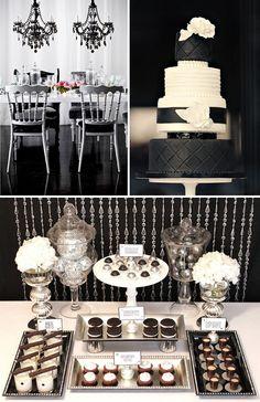 Black & white styling