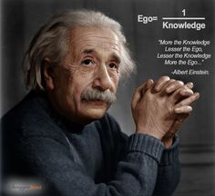 Knowledge vs. Ego