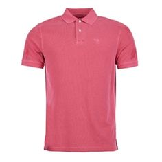 New for 2016 Barbour Washed Sports Polo Shirt - Fushia Sports Polo Shirts, Barbour Mens, Heritage Brands, Fashion Forward, Polo Ralph Lauren, Suits, Mens Tops, T Shirt, In Trend
