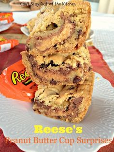 Reese's Peanut Butter Cup Surprises - Can't Stay Out Of The Kitchen