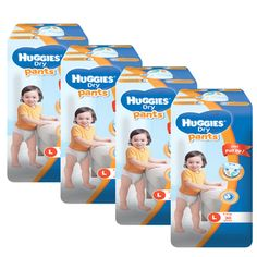 Buy Huggies Dry Pants Large - 30 pcs x 4 packs (120 pcs) online at Lazada Philippines. Discount prices and promotional sale on all Groceries. Free Shipping.