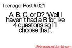 Teenager Post #21- I remember having this though.