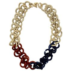 Missoni's chain plastic necklace