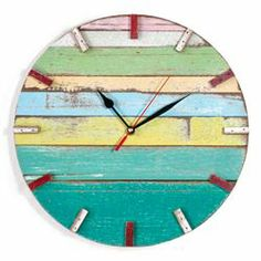Reclaimed wood clock from Bambeco--couple it with the $50 for $25 voucher and get it for $29! http://www.cheapism.com/blog/2096/home_decor_deals