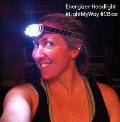 Energizer Trailfinder Headlight - Great for running, walking or biking after dark #LightMyWay #CBias