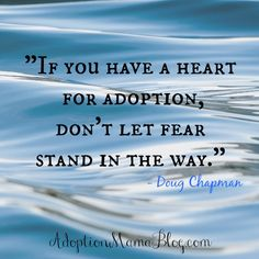 Adoption Quotes shared every Wednesday on Tamara's Instagram feed. Follow @adoptionmamablog or check out the #adoptionthinktank
