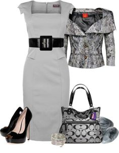 classy look, upscale outfit