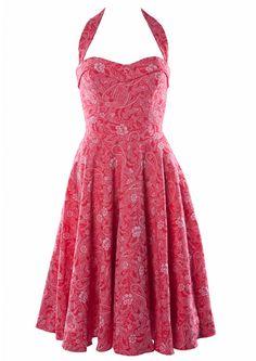 50s Swing Dress - Pink Martini