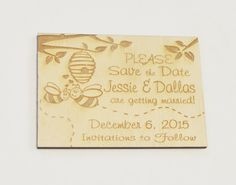 Personalized Rustic Country Wooden Honey by ExclusivelyYourLLC