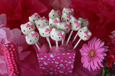 Hello Kitty CakePop Display