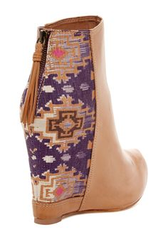 Splendid Janelle Wedge Bootie