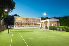 Tennis court | 59 Wattle Road Hawthorn World's Most Beautiful, Architecture, Tennis, Arquitetura, Architecture Design