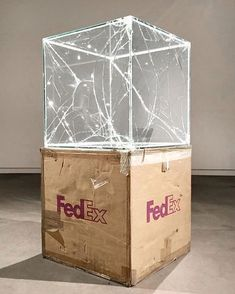 Each year as my bday approaches I request from the void a Walead Beshty Fedex piece that never arrives Its My Bday, Expositions, Land Art, Mixed Media Art, Contemporary Art, Abstract Art, Decorative Boxes, Art Gallery, Sculpture