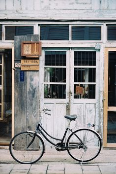 bike in front of the store #Bikes