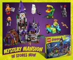 LEGO Scooby-Doo Mystery Mansion http://bit.ly/LEGOScooby-Doo