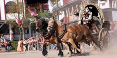 The western town in the Harz - Pullman City Harz עיר מערבונים עם מופעים, מתקנים לילדים וכו