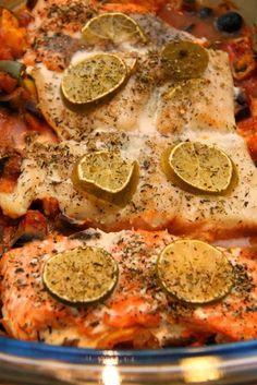 Ryba z warzywami po prowansalsku