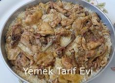 Baked Chicken Rice Recipe Satisfactory flavor for crowded tables Rice Recipes Sandviç tarifi Chicken Rice Recipes, Duck Recipes, Shrimp Recipes, Baked Chicken, Meat Recipes, Healthy Recipes, Iftar, Turkish Mezze, Pasta