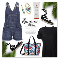 """Summer Dayz"" by truthjc ❤ liked on Polyvore featuring River Island, Canvas by Lands' End, R13, LeSportsac, 3LAB and Sam Edelman"
