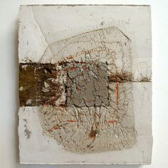 Marlies Hoevers : : Motion : : [mixed media] cement, thread, sand, and concrete x : : circa 2013 Art Painting, Encaustic Art, Abstract Painting, Wabi Sabi Art, Art, Concrete Art, Abstract, Cement Art, Contemporary Art
