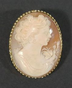 Vintage Cameo Pendant and Brooch Cameo Necklace, Cameo Pendant, Brooch, Jewels, Diamond, Gold, Beautiful, Vintage, Jewerly