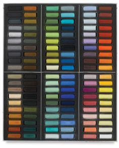 Set of 120, Paris Colors, Half-Sticks Sennelier pastels just bought this set off of amazon can't wait to try them!