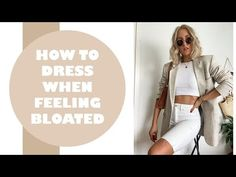 HOW TO DRESS WHEN FEELING BLOATED – SandraEmilia Styling Tips, It Hurts, Dress Up, Feelings, Youtube, Fashion Tips, Style, Fashion Hacks, Swag