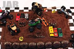 Finished Monster Truck Cake | Flickr - Photo Sharing!